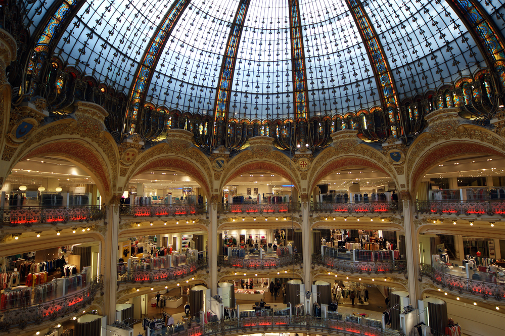 Paris Shopping Galleries Lafayette