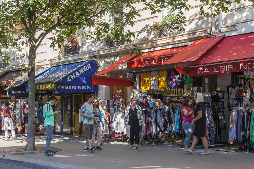 Shopping For Paris Scarves