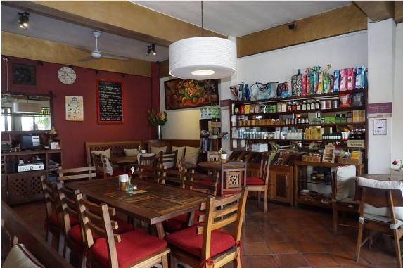 Ubud Coffee Cafe Bali