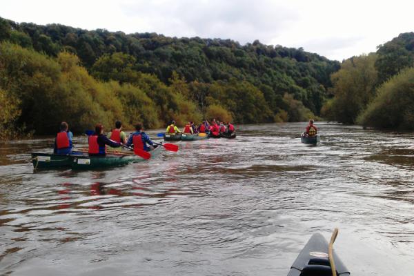 Wye River Canoeing