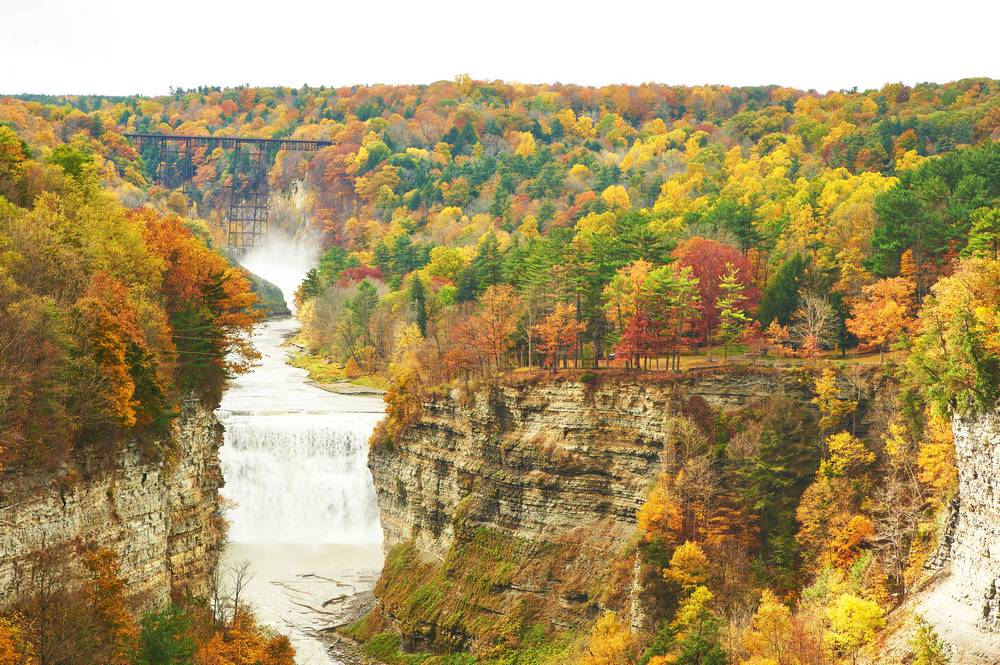 Lechtworth State Park NY