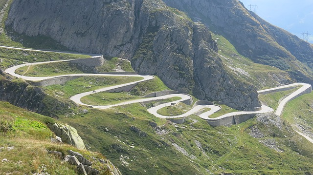 Gotthard Mountain Road