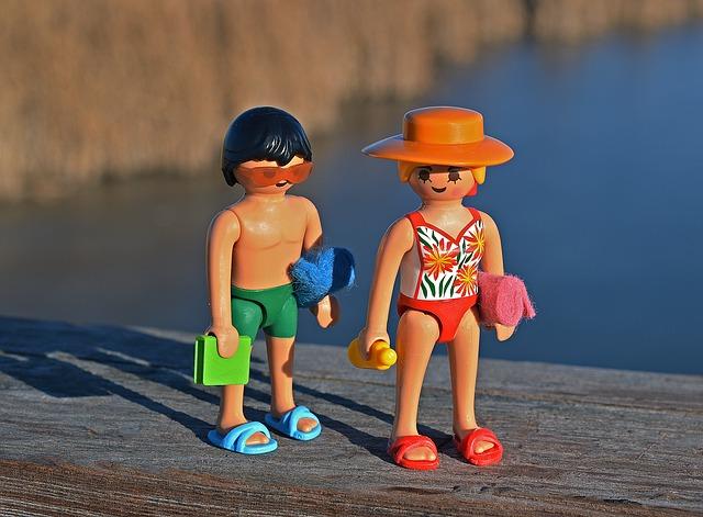 Swimmer Lego