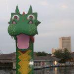 Downtown Disney - Lego Dragon