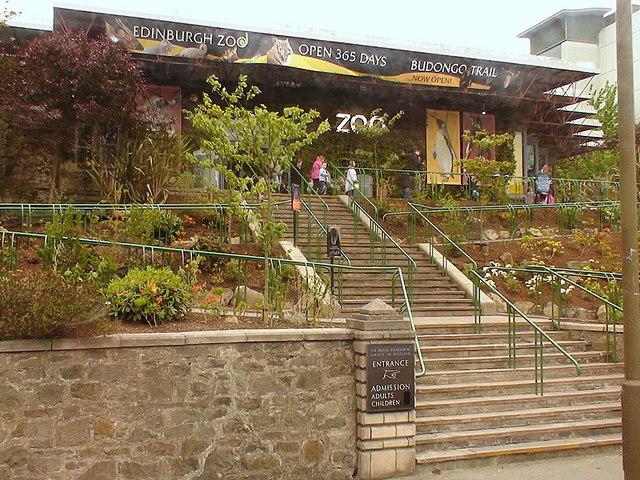 Edinburgh Zoo Scotland