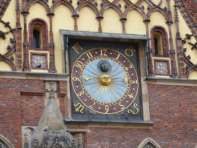 gothic town hall Poland