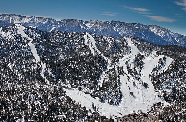 Bear Mountain Ski Resort California