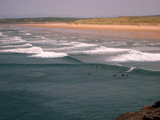 Bundoran Surfing, Ireland