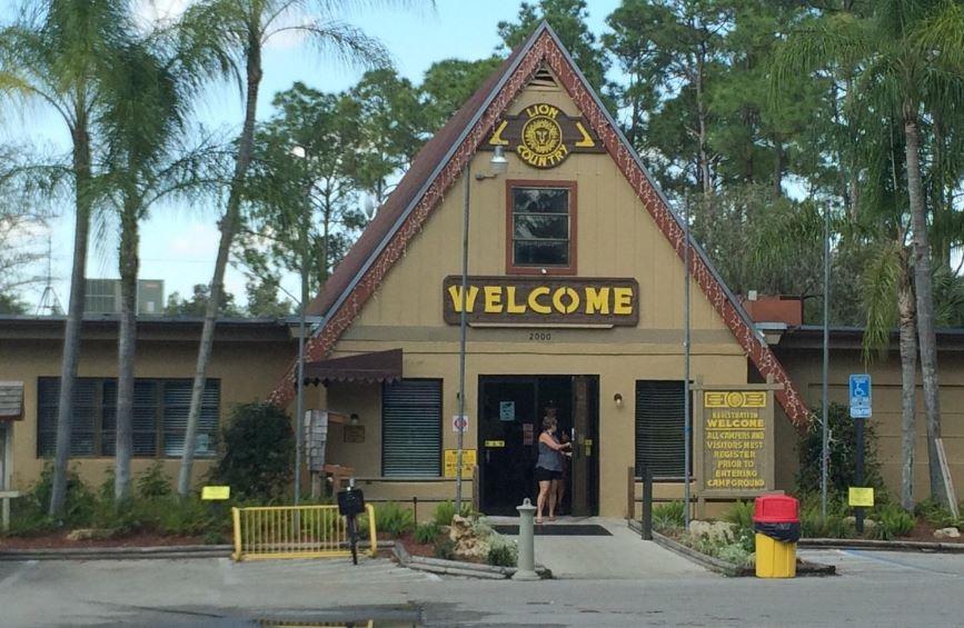 KOA Camp Ground at Lion Safari Florida