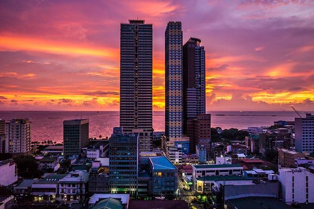 Philippines Manila Sunset