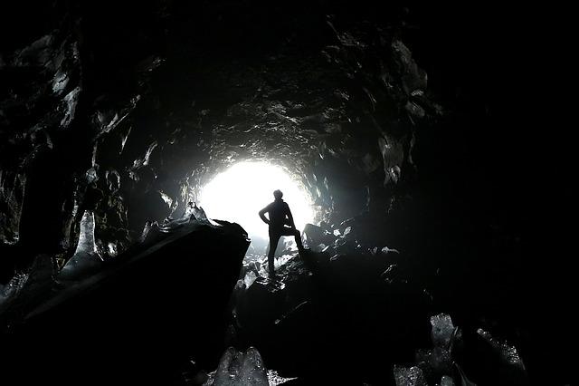 Raufarholshellir Tunnel Iceland