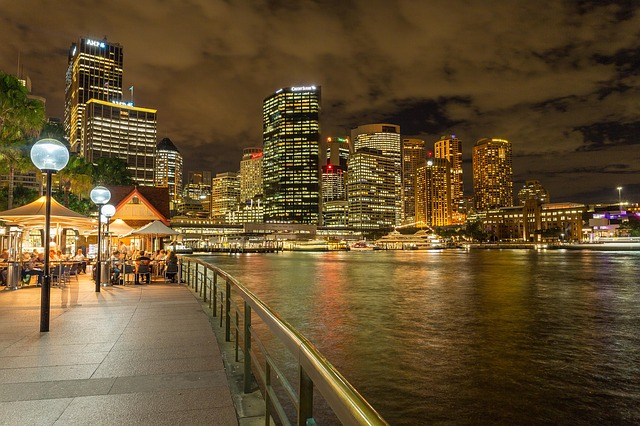 Sydney Harbor at Night