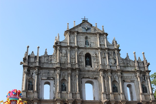 macau historic cathedral