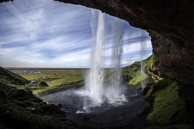 Seljalandsoff Falls Iceland