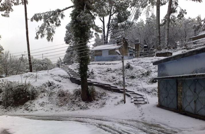 Almora in winter