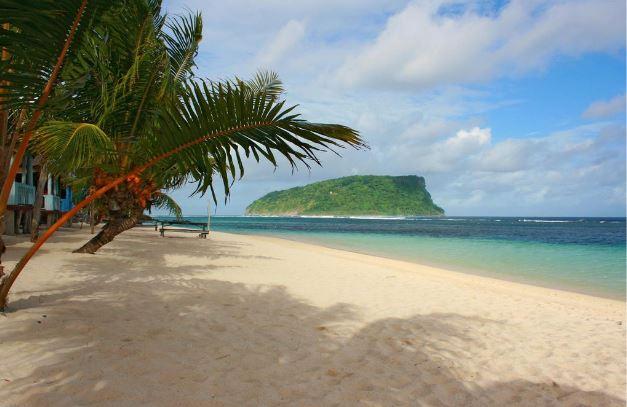 Apia Samoa, Beach