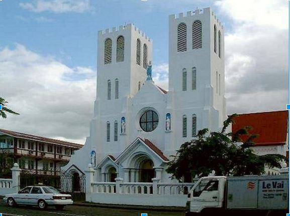 Apia Samoa Cathedral