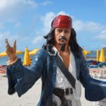 Captain Jack Sparrow Statue
