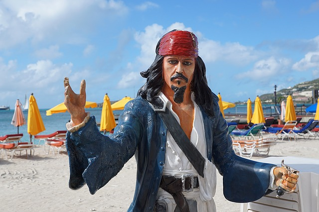 Captain Jack Sparrow Statue