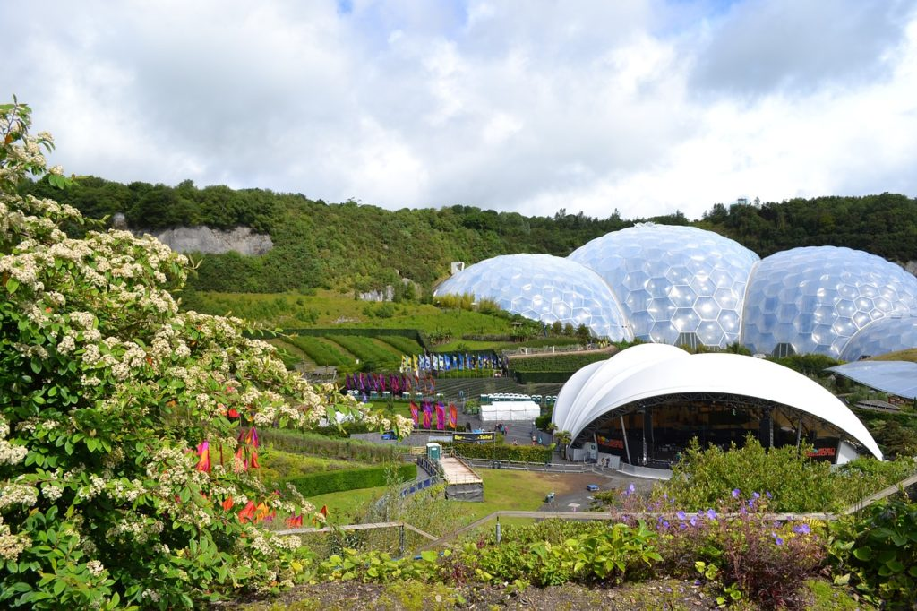 Eden Project Cornwall Engalnd
