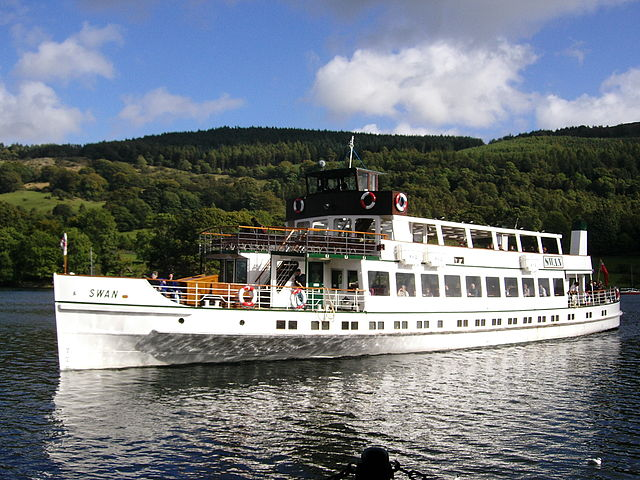 Cruising Lake Windermere England