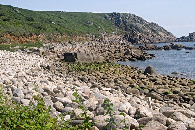 St. Loy Beach Cornwall England