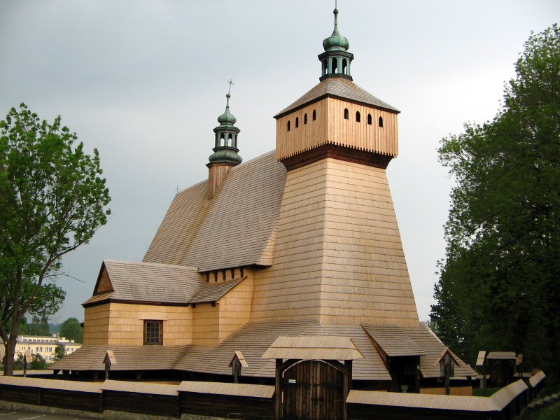 Historic Wooden Architecture Poland