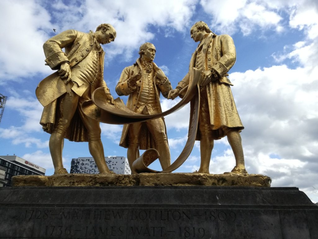 Birmingham England Statue