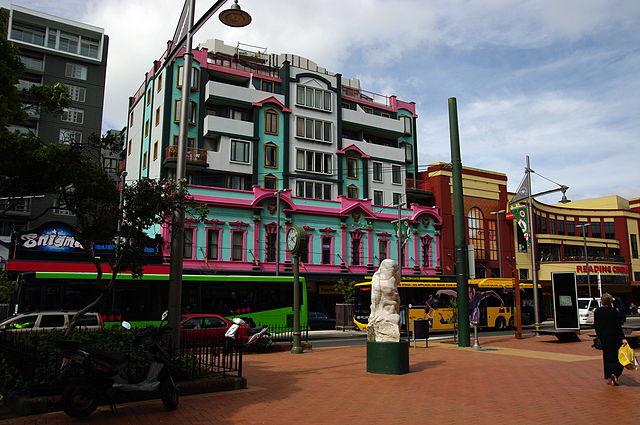 Courtenay Place Wellington New Zealand