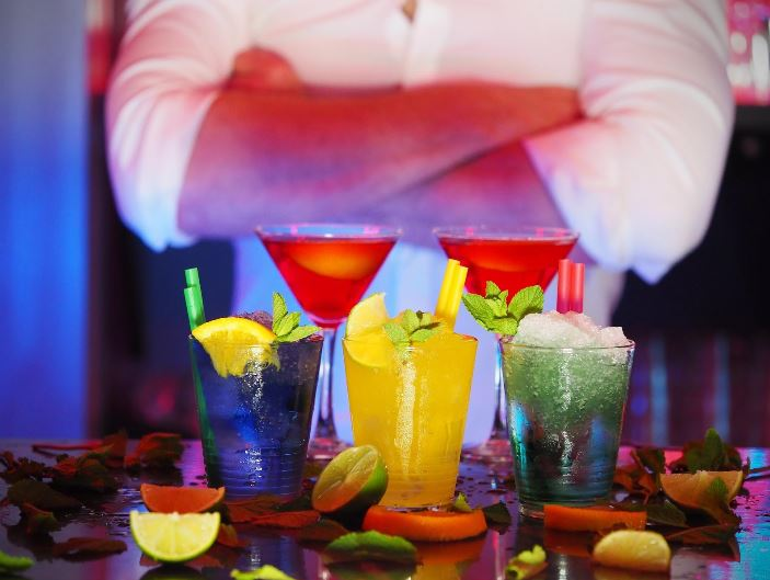 Fruit Cocktails in Edinburgh
