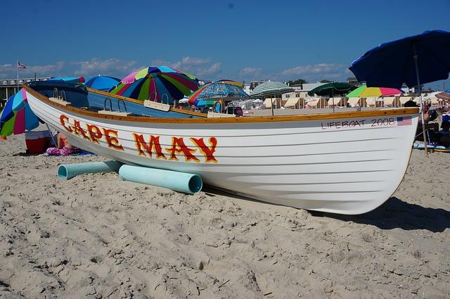 Jersey Shore, Cape May Beach