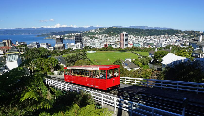 Wellington New Zealand Cable Car
