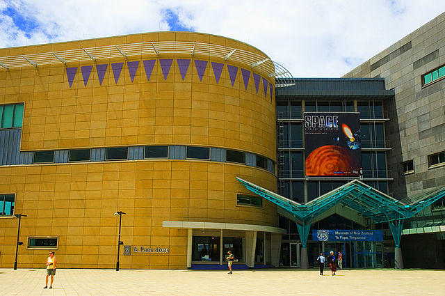 Te Papa Museum Wellington New Zealand