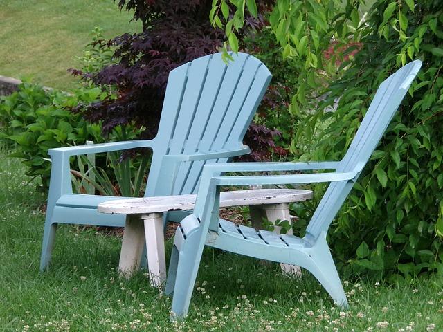 Staycation - adirondack chairs