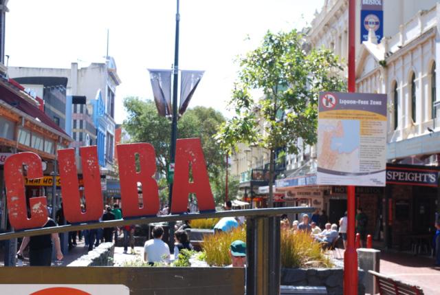 Cuba Street Wellington New Zealand