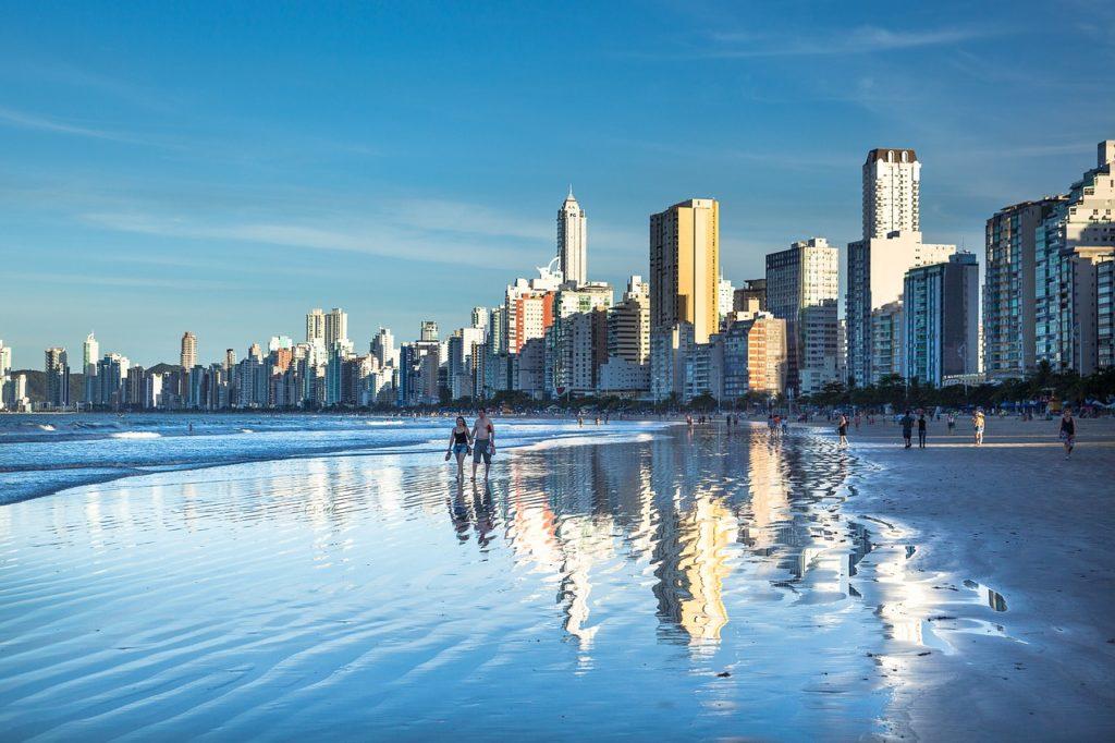 Brazil Beach Santa Catarina