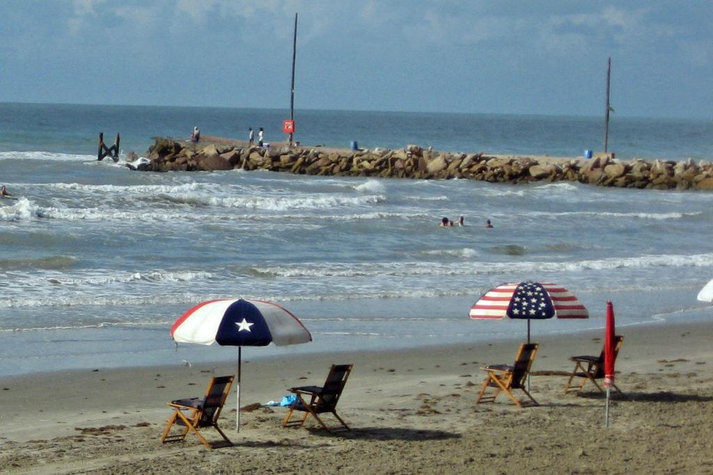 Galveston Texas Beach