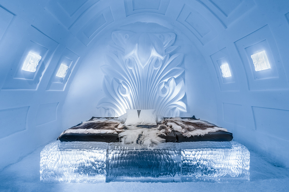 Ice Hotel by Eryk Marks/IceHotels.com