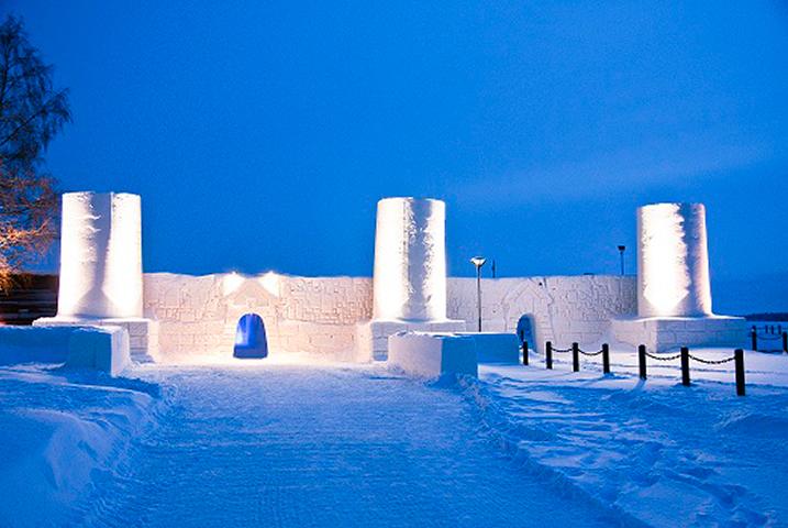 Kemi Ice Palace Finland