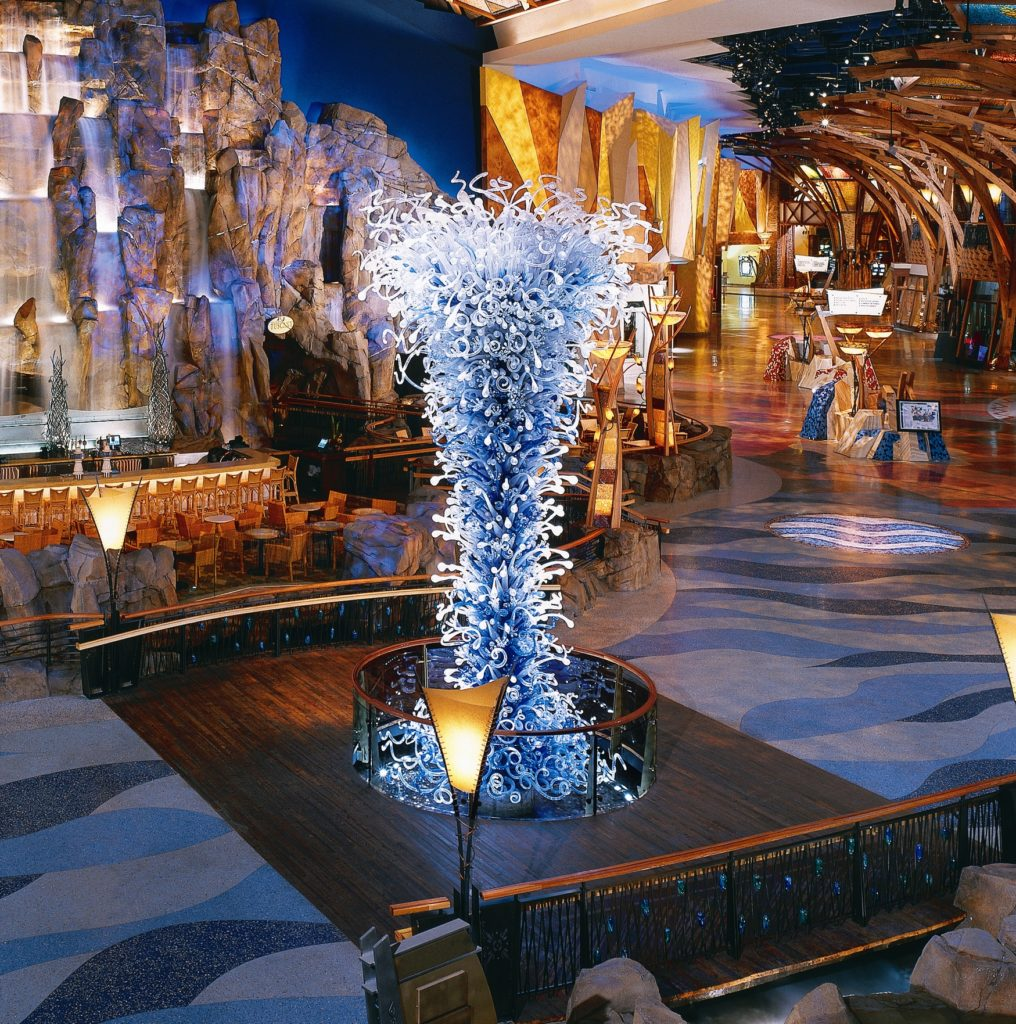 Mohegan Sun Chihuly Sculpture