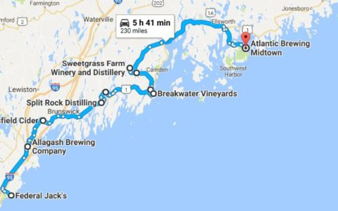 Maine's Fall Beer, Wine and Cider Tasting Trail