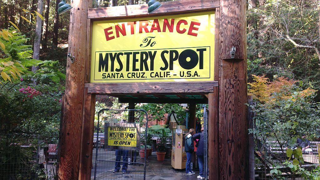 Mystery Spot Santa Cruz CA