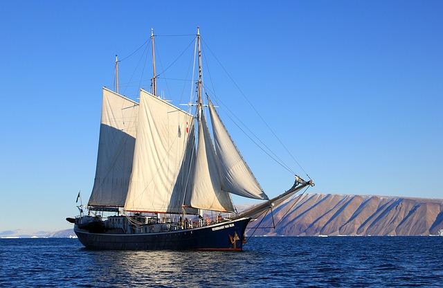 Greenland Iceburg Sail