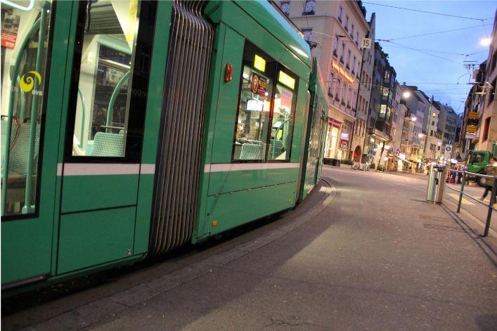 Tram in Switzerland