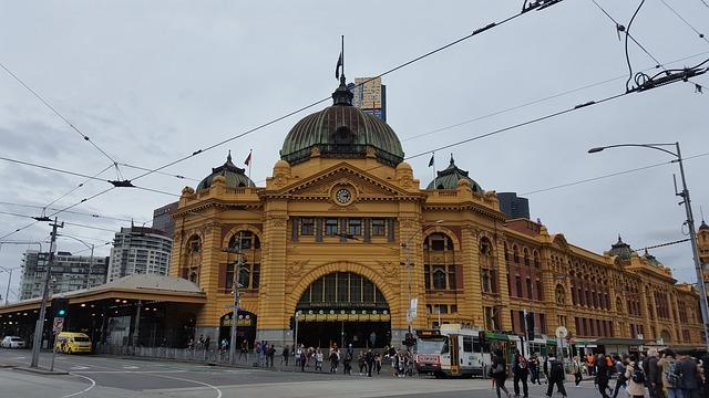 Melbourne Cental Station