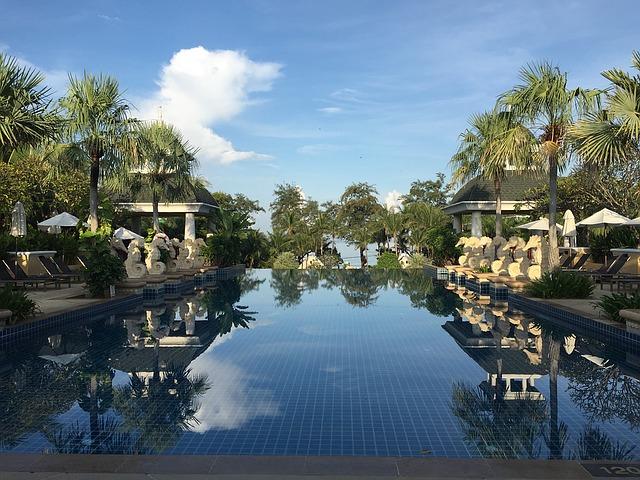 Phuket Thailand Infinity Swimming Pool