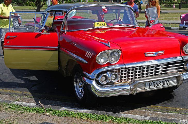 Havana Classic Car Taxi