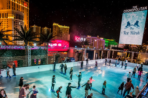 Ice Rink at Cosmopolitan Las Vegas