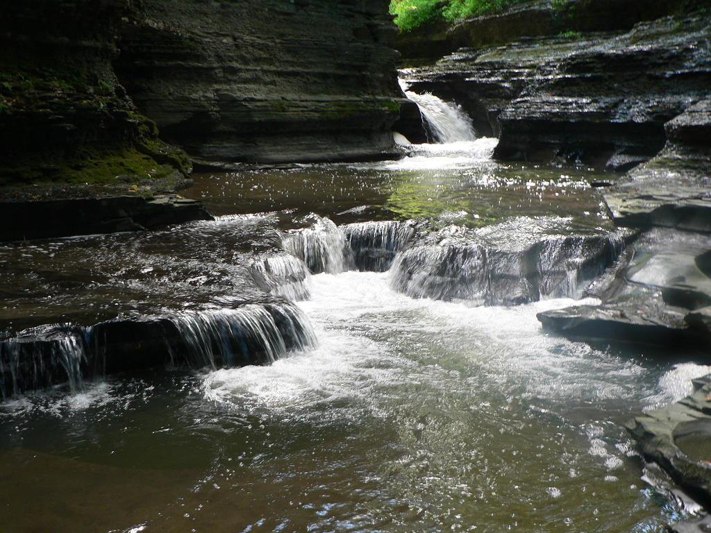 Waterfall Ithaca New York