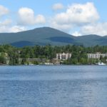 Lake Pacid New York by Mwanner